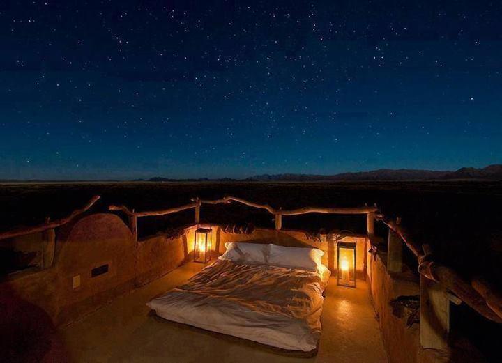 Para dormir mirando a las estrellas