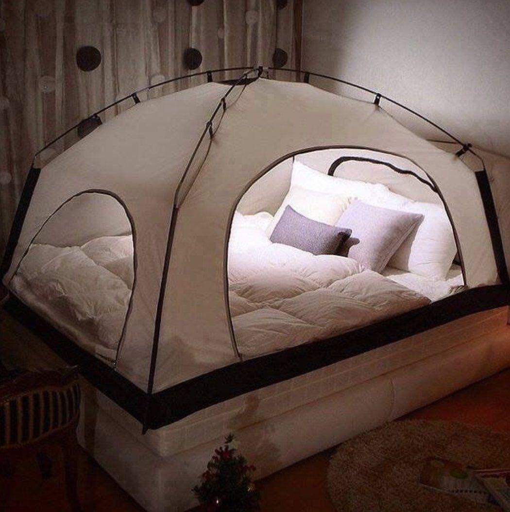 cama tienda de campaña