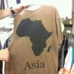 Camiseta geográficamente incorrecta