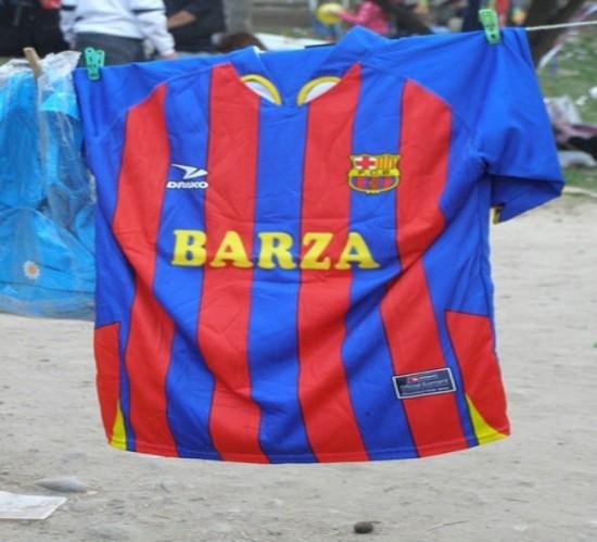 Camiseta oficial del Barza
