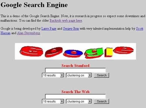 Google, 1997