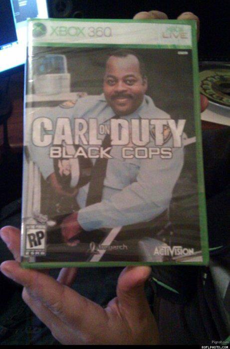 Carl on Duty - Black cops