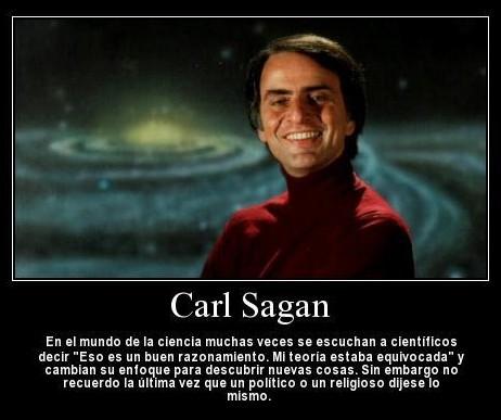 Carl Sagan - La rectificación en ciencia y en política