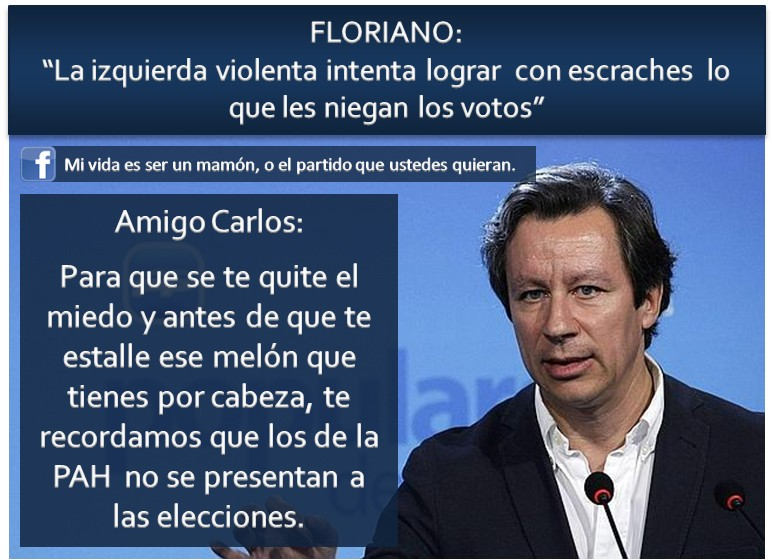 Carlos Floriano: La izquierda violenta intenta lograr con escraches lo que les niegan los votos