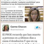 Carme Chacón – Donde dije digo digo diego