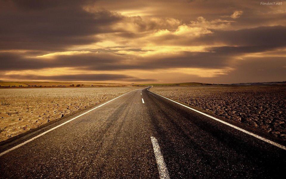 Carretera y horizonte