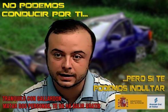 Carromero - No podemos conducir por ti, pero sí te podemos indultar