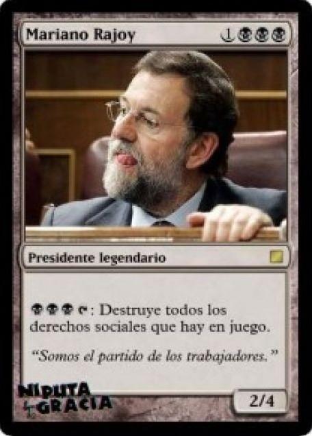 Cartas Magic - El presidente legendario
