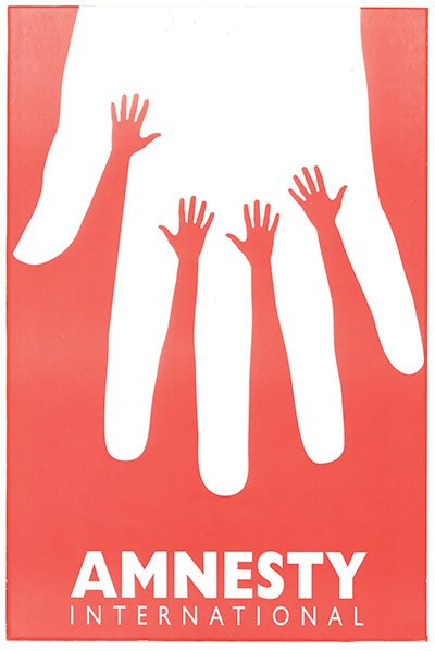 Cartel Amnistía Internacional