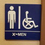 Cartel del aseo para los X-Men