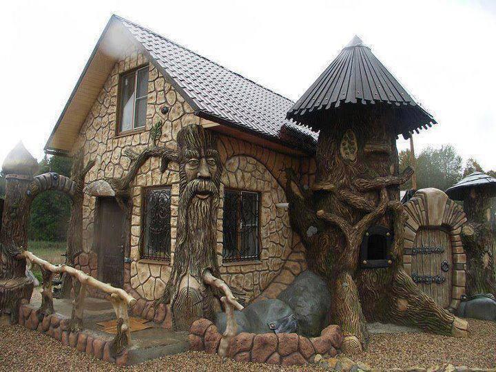 Casa de cuento de hadas