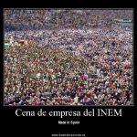 Cena de empresa del INEM Made in Spain