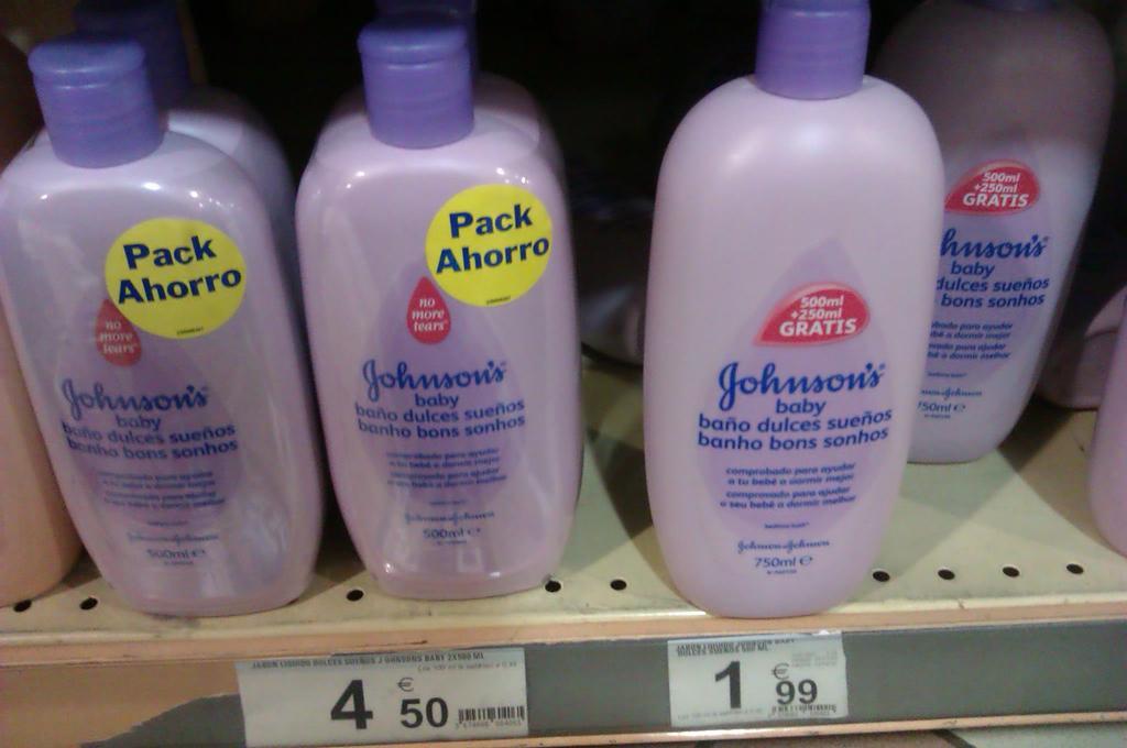 El pack ahorro de Johnsson's Baby