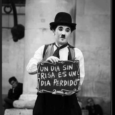 Un día sin risa es un día perdido (Charlie Chaplin)