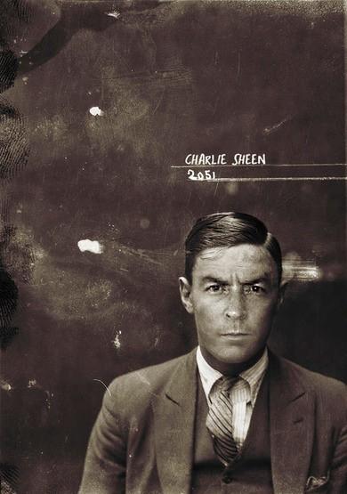 Charlie Sheen - foto de los años 20