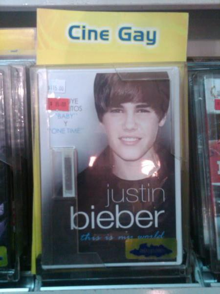 Cine Gay - Justin Bieber - This is my world