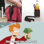 Cinturón porta-cervezas