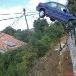 Accidente inexplicable