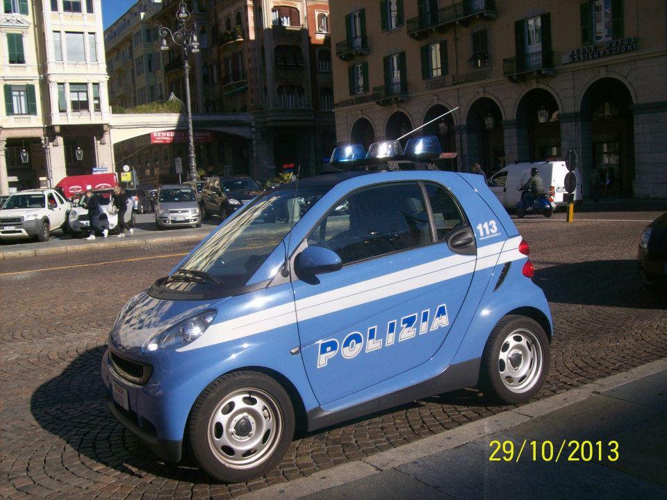 Patrulla de policía en Malta