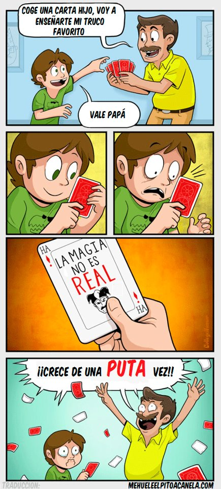 El gran truco de magia
