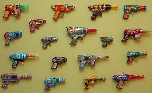Colección de pistolas
