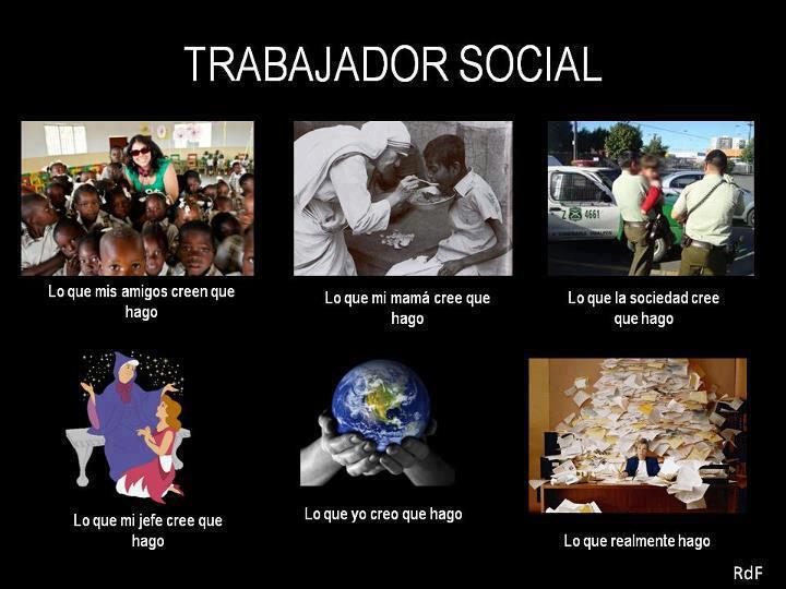 Cómo me ven - Trabajador social