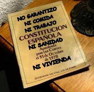 Lo que no garantiza la Constitución Española