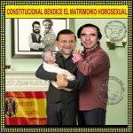 Constitucional bendice el matrimonio homosexual