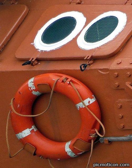 Cosas que parecen caras - barco sorprendido