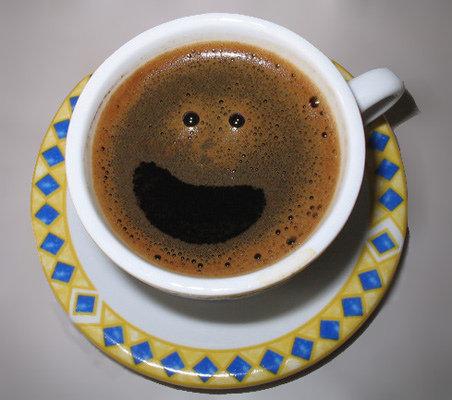 Cosas que parecen caras - Café sonriente
