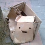 Cosas que parecen caras – Caja abandonada