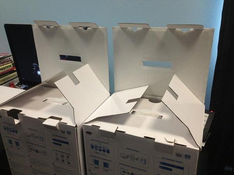 cosas que parecen caras - cajas - excelente