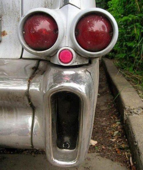 Cosas que parecen caras - Defensa de coche sorprendida