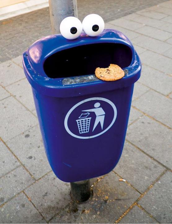 Cosas que parecen caras - Monstruo de las galletas
