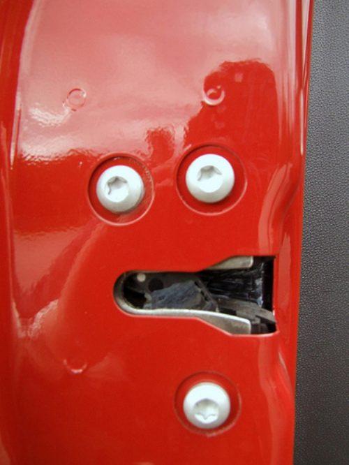 Cosas que parecen caras - Puerta del coche extrañada