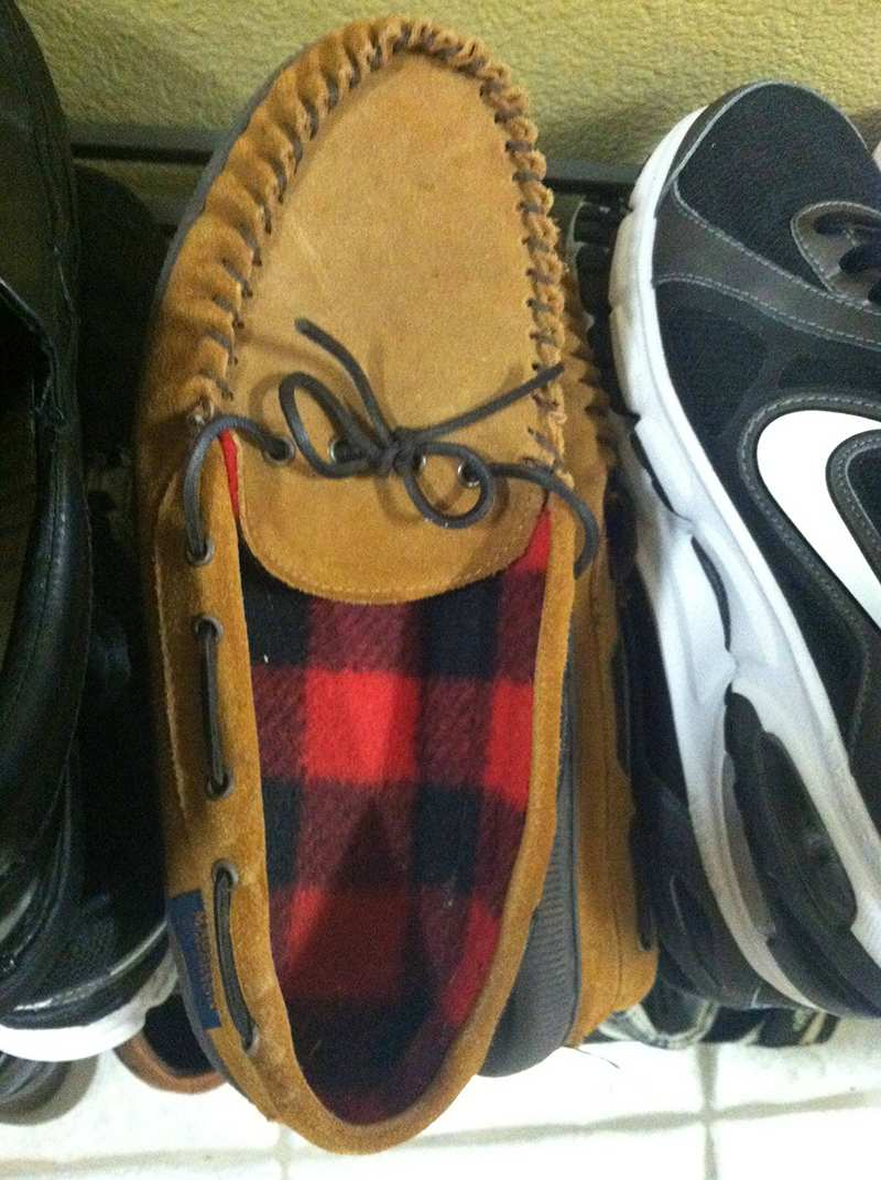 Cosas que parecen caras - Zapato riéndose