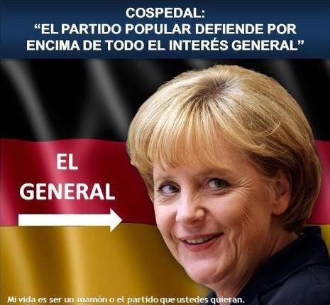El Partido Popular defiende por encima de todo el interés general