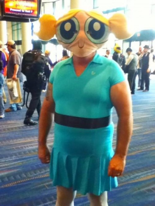 Cosplay fail - Supernena