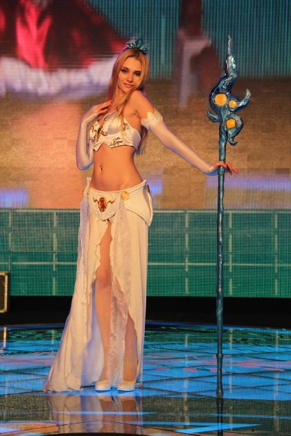 Cosplay Janna (juego League of Legends)