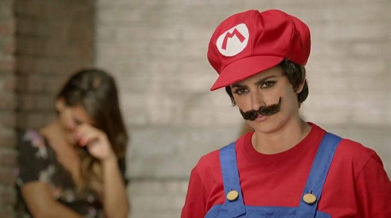 Cosplay Mario Bros (Penélope Cruz)