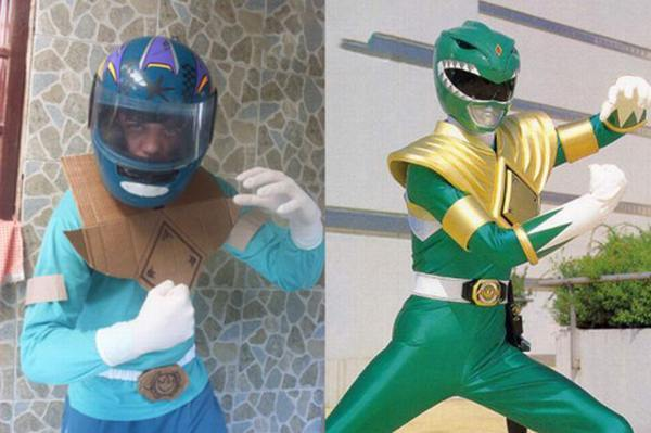 Cosplay Power Rangers Fail