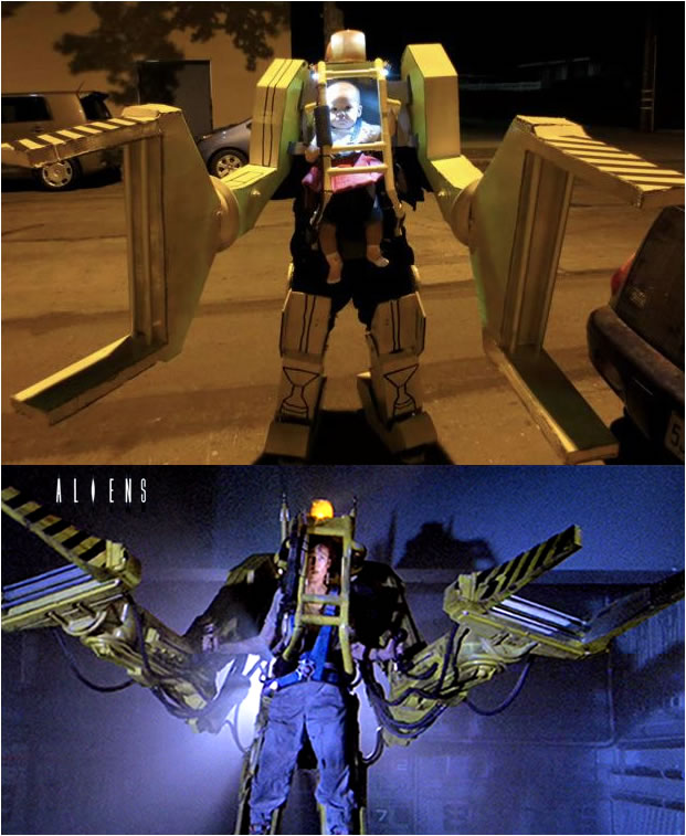 Cosplay - Robot de carga de aliens 2