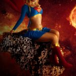 Cosplay Super Girl