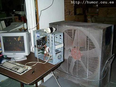 cpu ventilador enorme
