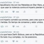 Argumentos de la derecha aplicados a Star Wars