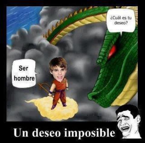 El deseo de Justin Bieber