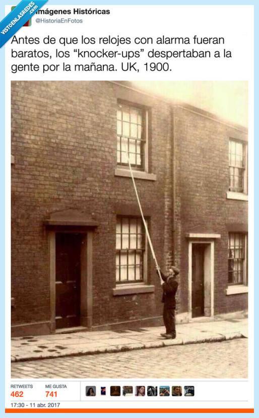Así eran los despertadores en 1900