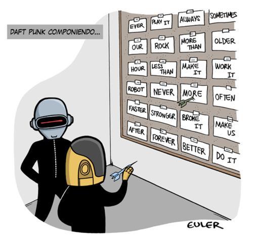 Daft Punk componiendo