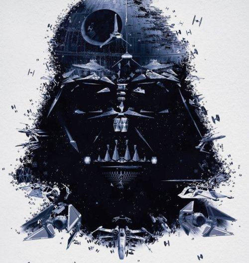 Darth Vader - Estrella de la muerte