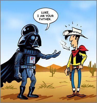 Darth Vader despistado
